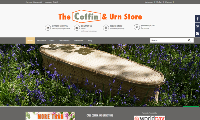 Coffin Andurn Store